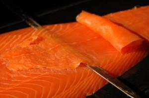 animation saumon pour cocktails
