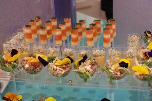 cocktail dinatoire Swarovski